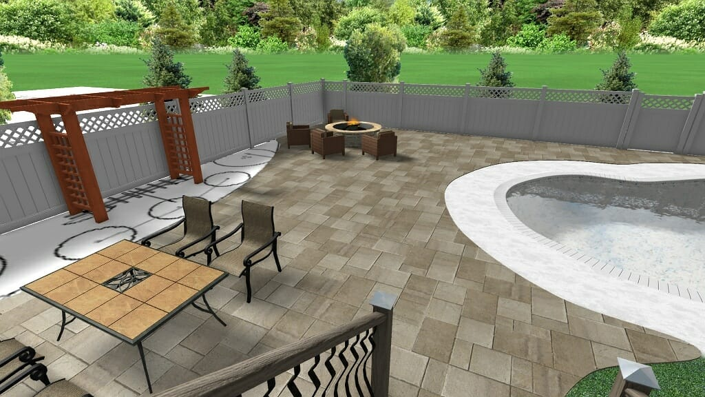 11pool landscape plan Saratoga County NY - Landscape Design and Consulting