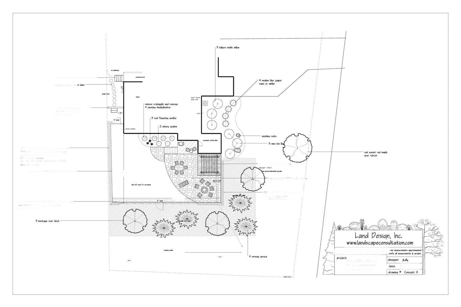 Complete Landscape Design Plans In The Albany Ny Area