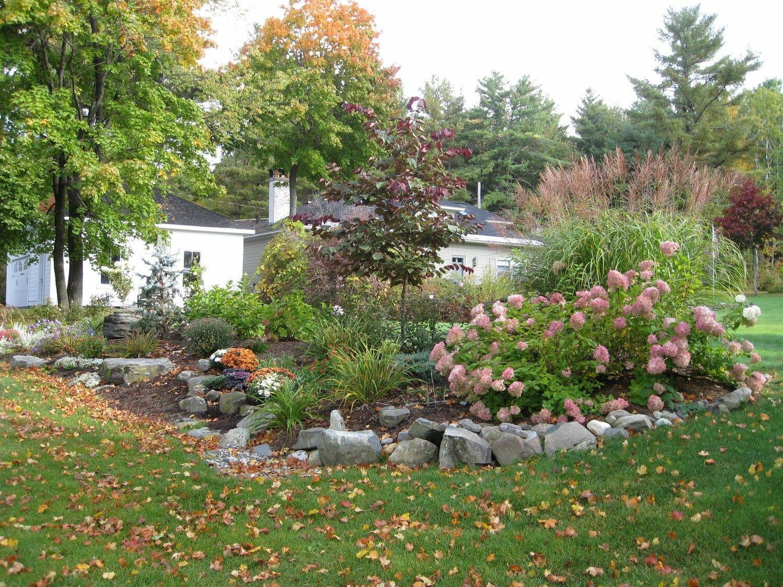 Naturalistic garden design Averill Park, NY