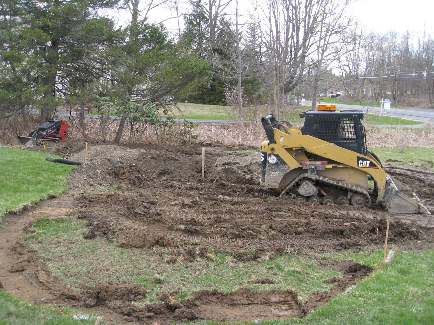 how to build a landscape mound for privacy