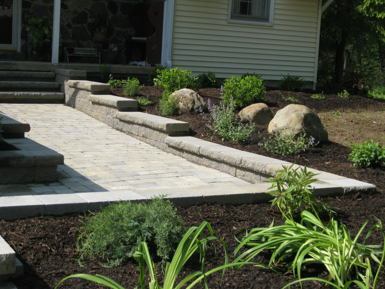 Small Planting design in Saratoga County