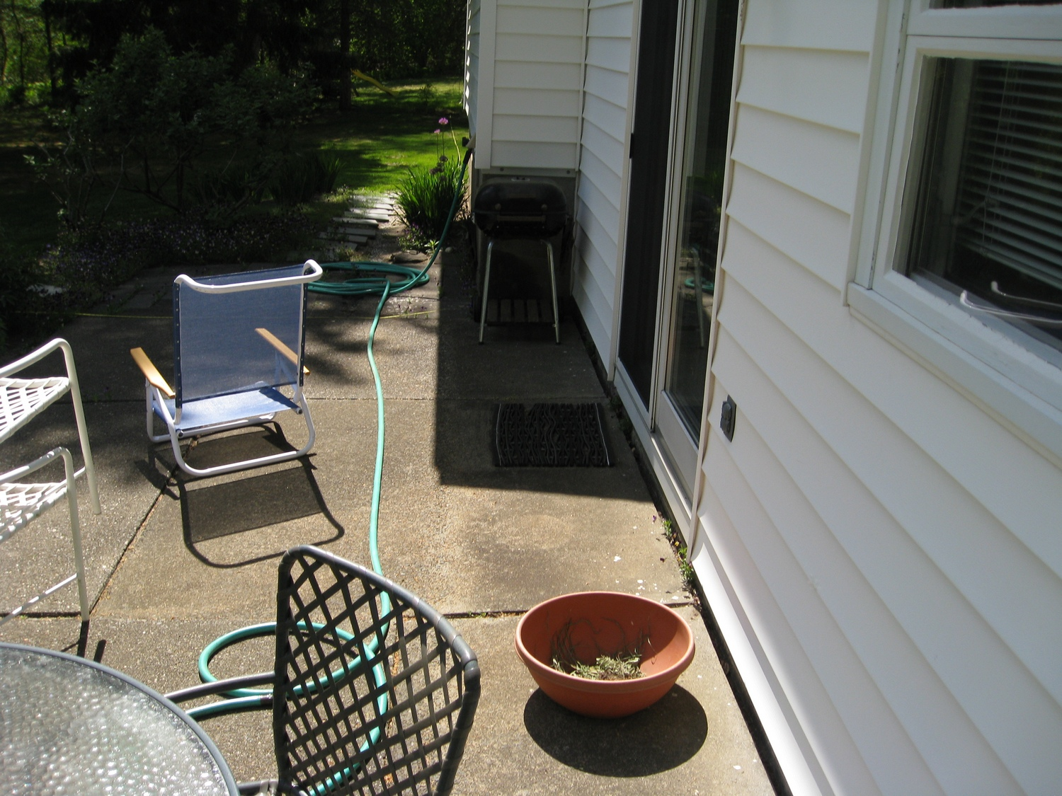 Latham Colonie NY Backyard Patio