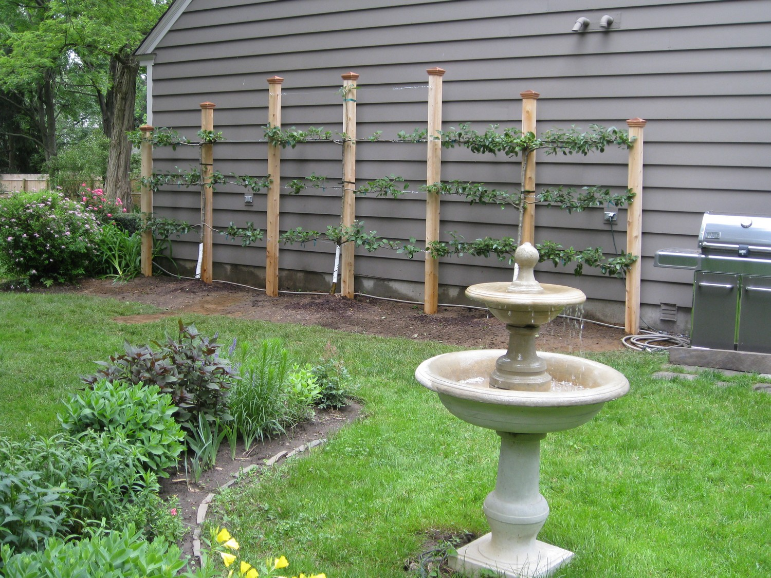 Garden structure design scotia ny landscaping and for Garden structure design