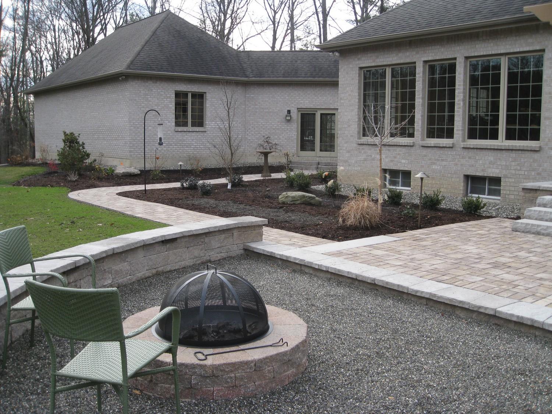 Back Yard Outdoor Kitchen Wynantskill, NY