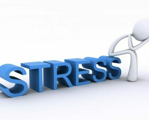Stress with anxiety